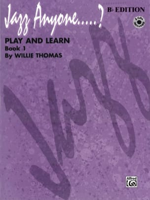 Willie Thomas - Anyone Jazz - Book 1 - Play and Learn - Sheet Music - di-arezzo.co.uk