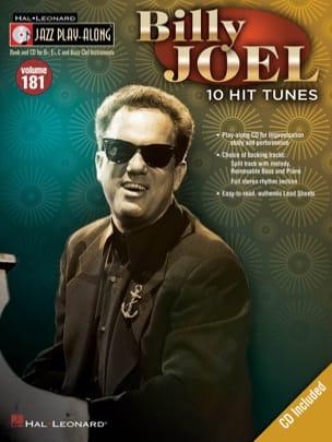Jazz Play-Along Volume 181 - Billy Joel Billy Joel laflutedepan