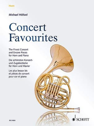Concert Favourites - Partition - Cor - laflutedepan.com