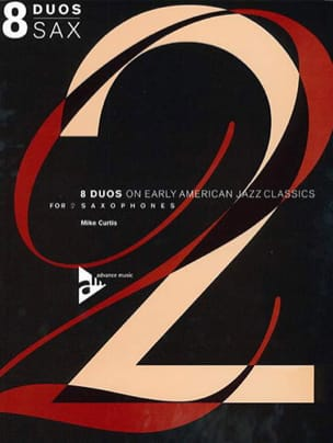 8 Duos on Early American Jazz Classics For 2 Saxophones - Partition - di-arezzo.co.uk