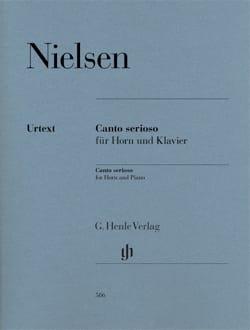 Carl Nielsen - Canto serioso - Partition - di-arezzo.fr