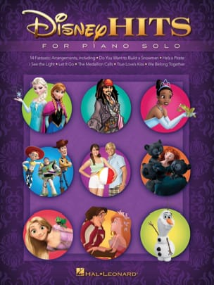 DISNEY - Disney Hits for Solo Piano - Sheet Music - di-arezzo.com