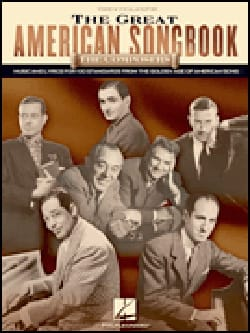 - The Great American Songbook - The Composers - Partition - di-arezzo.fr