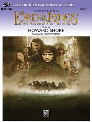 Howard Shore - Lord of the Rings - Fellowship of the Rings - Symphonic Suite - Partition - di-arezzo.ch