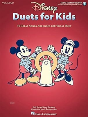 DISNEY - Disney Duets for Kids - Partition - di-arezzo.fr