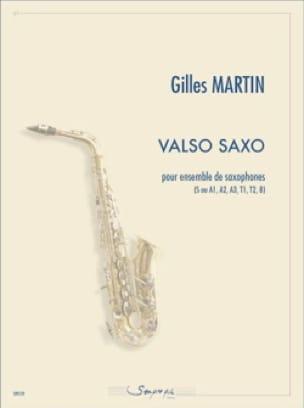 Valso Saxo - Gilles Martin - Partition - Saxophone - laflutedepan.com