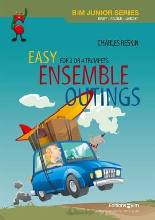 Charles Reskin - Easy Ensemle Outings Trios-Quartets - Sheet Music - di-arezzo.com