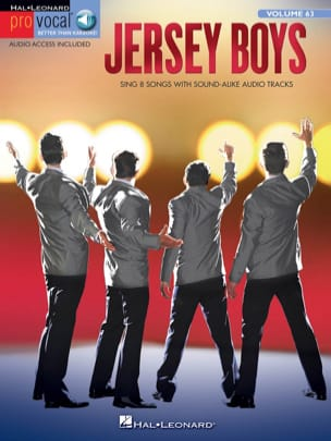 Pro Vocal Men's Edition - Volume 63: Jersey Boys laflutedepan