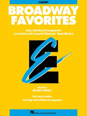 Broadway Favorites - Partition - ENSEMBLES - laflutedepan.com