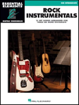 - Rock Instrumentals - 15 Hit songs arranged for three or more guitarists - Partition - di-arezzo.fr