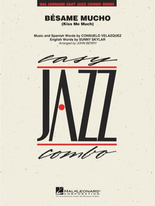 Consuelo Velásquez - Bésame Mucho - Kiss me Much - Partition - di-arezzo.fr