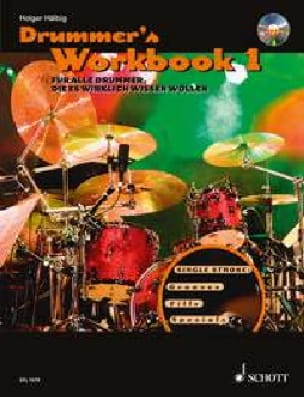 Holger Hälbig - Drummer's Workbook 1 mp3 - Sheet Music - di-arezzo.com