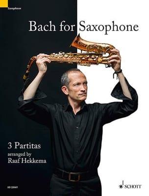 Johann Sebastian Bach - Bach for Saxophone - Partition - di-arezzo.fr