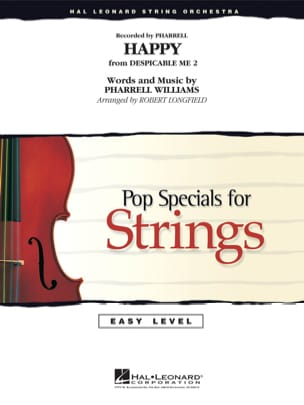 Williams Pharrell - Happy - Easy Pop Specials For Strings - Partition - di-arezzo.fr