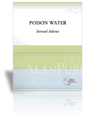 Samuel Adams - Poison Water - Sheet Music - di-arezzo.co.uk