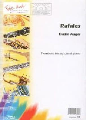 Evelin Auger - Rafales - Partition - di-arezzo.fr