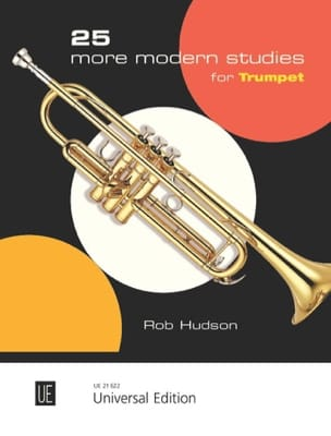 25 More Modern Studies for Trumpet - Robert Hudson - laflutedepan.com