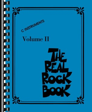 - The Real Rock Book Volume 2 - C Instruments - Partition - di-arezzo.fr