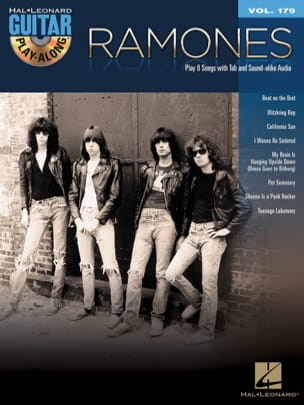 Ramones - Guitar Play-Along Volume 179 - Ramones - Sheet Music - di-arezzo.co.uk