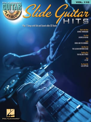 Guitar Play-Along Volume 110 - Slide Guitar Hits - Partition - di-arezzo.fr