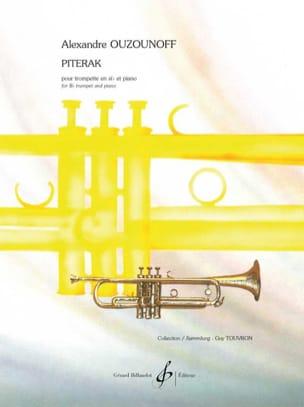 Piterak - Alexandre Ouzounoff - Partition - laflutedepan.com