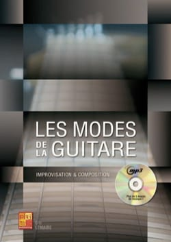 Eric Lemaire - The modes of the guitar - Book - di-arezzo.co.uk