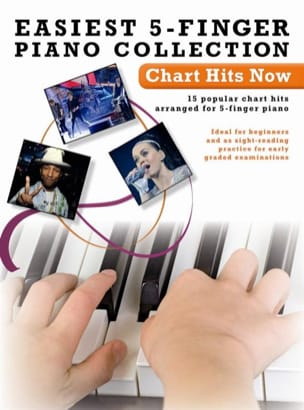 Easiest 5-Finger Piano Collection - Chart Hits Now - laflutedepan.com