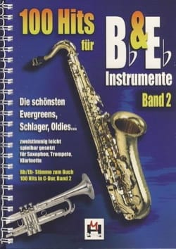 - 100 Hits in duo for Bb and Eb instrument volume 2 - Sheet Music - di-arezzo.co.uk