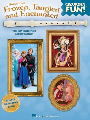 DISNEY - Recorder Fun! Songs From Frozen, Tangled And Enchanted - Partition - di-arezzo.fr