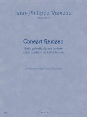 Concert Rameau - Jean-Philippe Rameau - Partition - laflutedepan.com