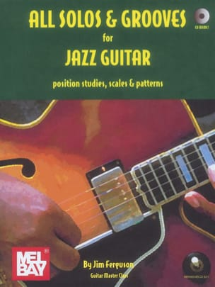Jim Ferguson - All Solos and Grooves for Jazz Guitar - Partition - di-arezzo.fr