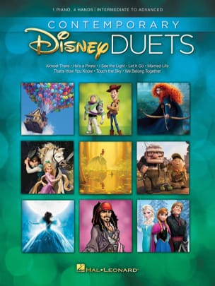 DISNEY - Contemporary Disney Duets - Partition - di-arezzo.fr
