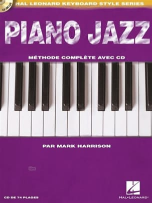 Piano Jazz Mark Harrison Livre Piano - laflutedepan
