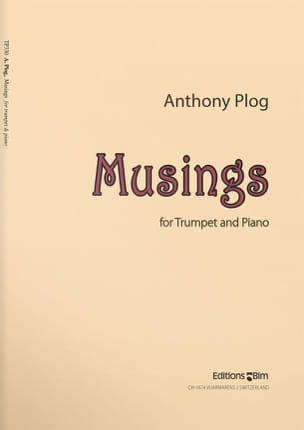 Anthony Plog - Musings - Partition - di-arezzo.fr