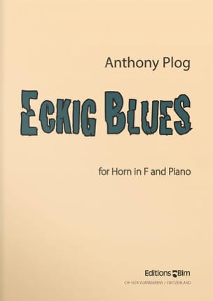 Anthony Plog - Eckig Blues - Partition - di-arezzo.fr