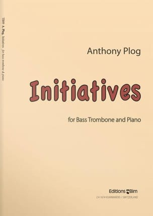 Anthony Plog - initiatives - Sheet Music - di-arezzo.co.uk