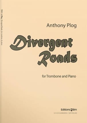 Anthony Plog - Divergent Roads - Partition - di-arezzo.fr