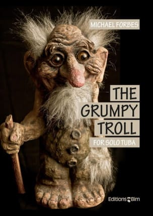 The Grumpy Troll - Michael Forbes - Partition - laflutedepan.com