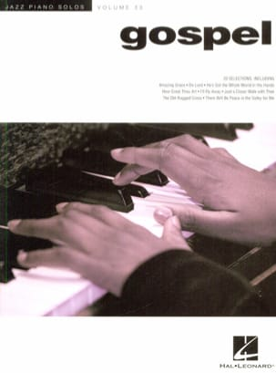 - Jazz Piano Solos Series Volume 33 - Gospel - Partition - di-arezzo.fr