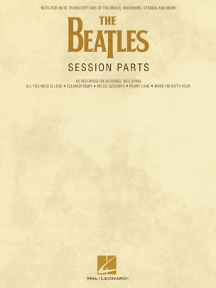 BEATLES - The Beatles Session Parts - Partition - di-arezzo.fr