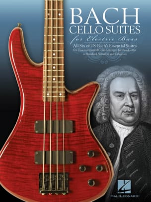 Bach Cello Suites for Electric Bass BACH Partition laflutedepan