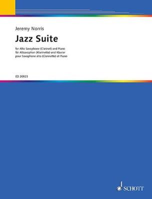 Jazz Suite Jeremy Norris Partition Saxophone - laflutedepan