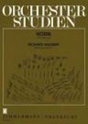 BACH - Orchester Studien - Sheet Music - di-arezzo.co.uk