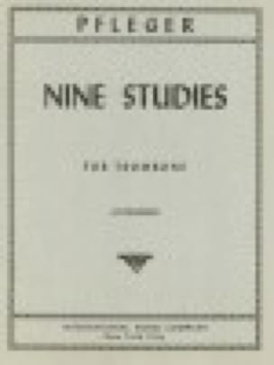 Carl Pfleger - Nine Studies - Partition - di-arezzo.fr