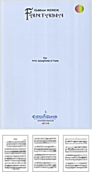 Gabor Kerek - Fantasia - Partition - di-arezzo.fr