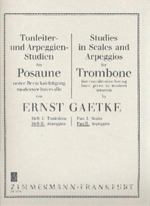 Ernst Gaetke - Studies in Scales and Arpeggios Volume 2 - Arpeggios - Partition - di-arezzo.fr