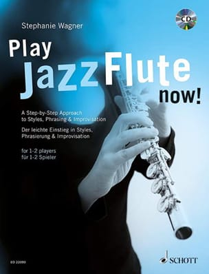 Stephanie Wagner - Play Jazz Flute - now! - Partition - di-arezzo.fr