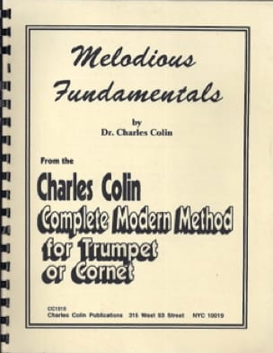 Charles Colin - Melodius Fundamentals - Sheet Music - di-arezzo.co.uk