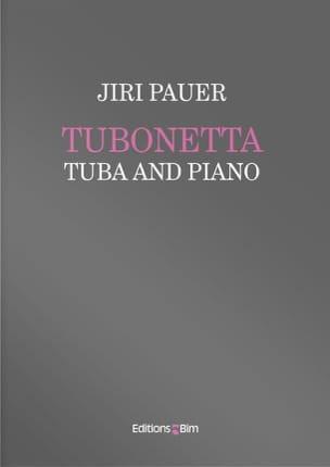 Tubonetta - Jiri Pauer - Partition - Tuba - laflutedepan.com
