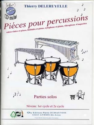 Thierry Deleruyelle - Percussion parts - Sheet Music - di-arezzo.com